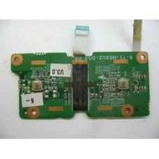 Butoane mouse pad Clevo Hyrican M67SRU